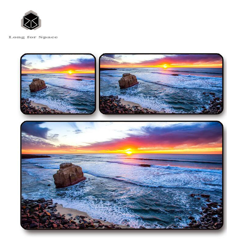 SJLUHS Coastal Large Gaming Mouse Pad High Quality Expansion Mousepad Profession Free Shipping
