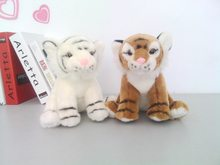 one piece lovely plush tiger toy high quality tiger doll gift about 35cm 2775(China)