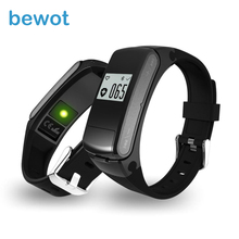 2016 NEW Good Band Bluetooth Music Sport Good Bracelet Watch Wristband Pedometer Health Tracker Coronary heart Price Monitor vs Hua wei