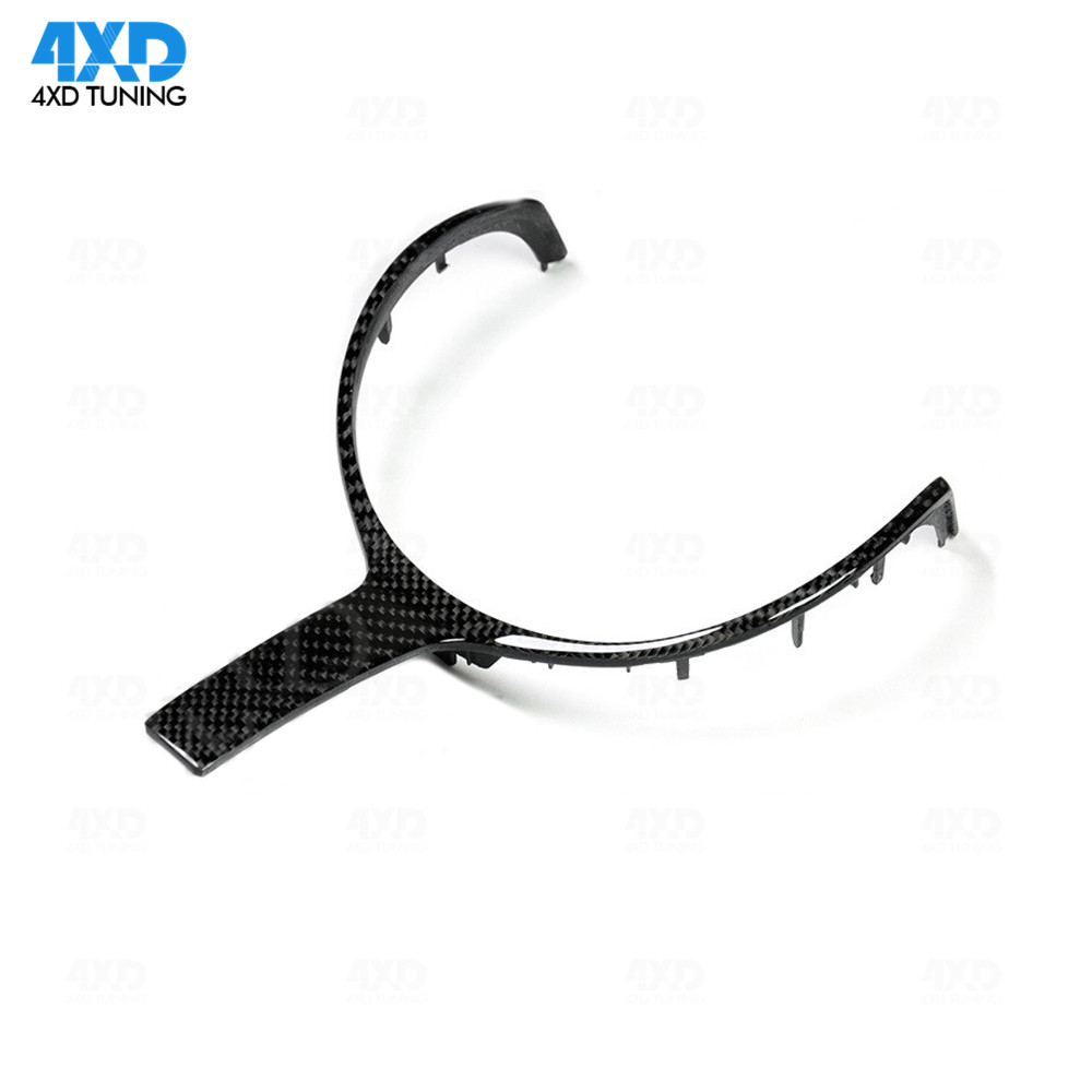 F10 Carbon Fiber steering Wheel Trim For BMW F30 F22 X5 M Sport Steering Wheel Replacement
