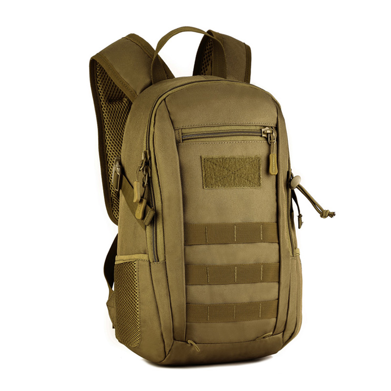 12L Tactical MOLLE Backpack Children Waterproof Small Backpack School Bags Kids Military Rucksack Assault Pack