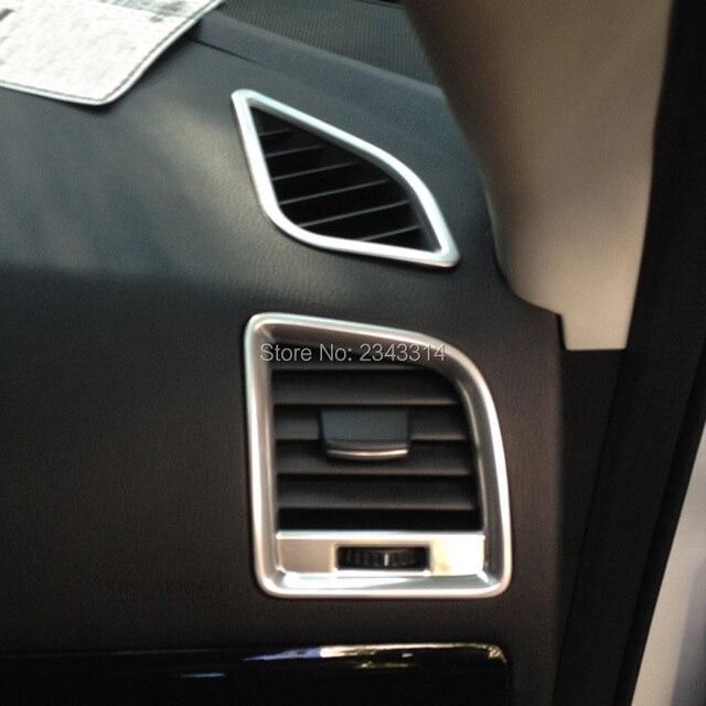For 2013 2014 2015 Mazda CX 5 CX5 CX 5 ABS Chrome Dashboard Air Conditioning