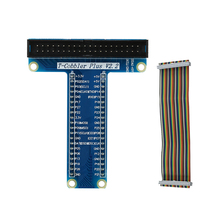 Wholesale prices 6pcs T-shaped GPIO Expansion Board for Raspberry Pi 3 Model B+ T-shaped GPIO Expansion Board