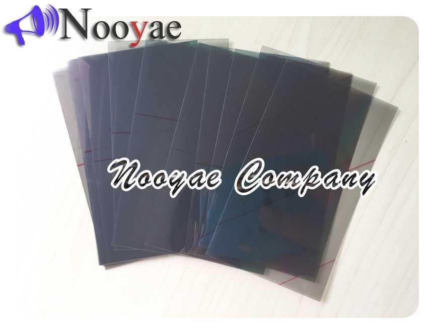 Novaphopat lcd المستقطب لسامسونج S3 S4 S5 S6 نوت 2 لمجرة I9300 I9500 I9190 N7100 LCD تصفية الاستقطاب فيلم الاستقطاب