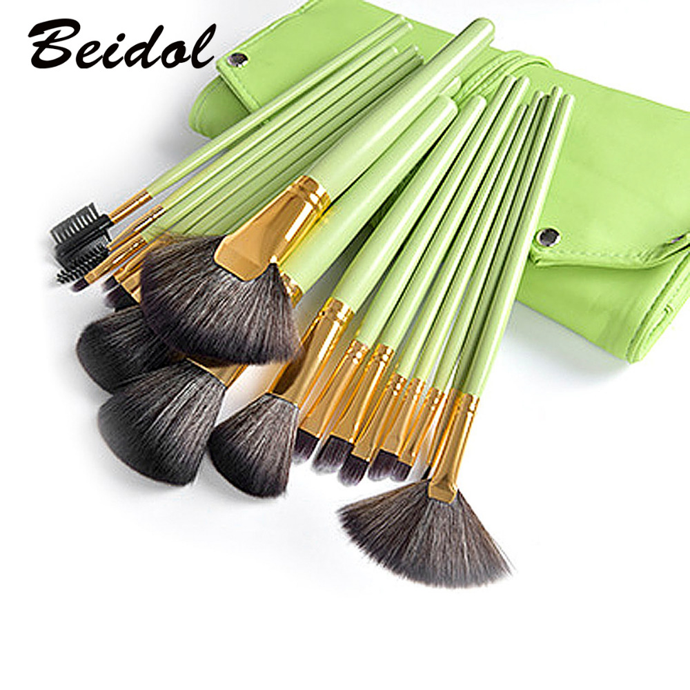 18pcs Brushes Makeup Sets Wood Handle Cosmetic Make Up Tools Multi-Functional Brushes Kits Makeup Tools with PU Bag free ship constitutionalism multilevel trade governance and social regulation