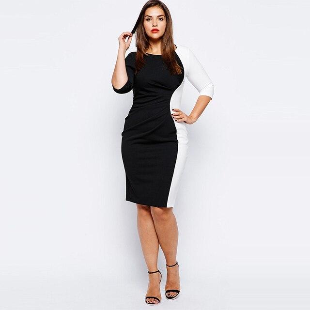 Black dress quarter sleeve summer