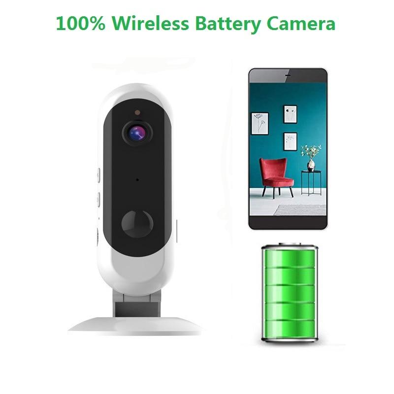 wdskivi Battery HD 1080P Mini IP Camera 100 Wireless WiFi Camera Security Surveillance CCTV Camera Baby