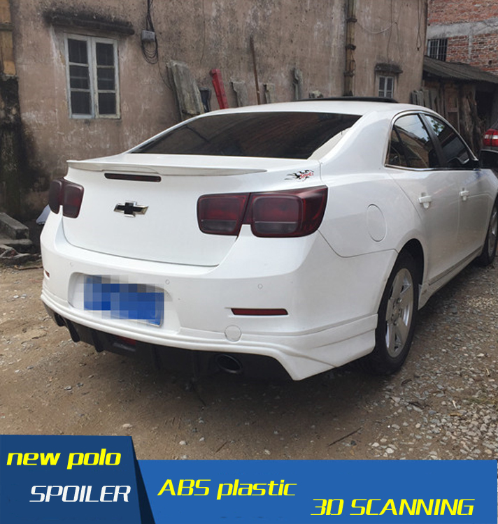 Us 15 9 47 Off For Malibu Spoiler Abs Material Car Rear Wing Primer Color Malibu Rear Spoiler For Chevrolet Malibu Spoiler 2009 2015 In Spoilers