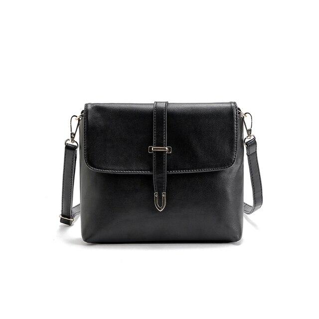89c61fca8508 Auhwone High Quality Women Retro Messenger Bag Women s Black White Blue Envelope  Bag Shoulder Bag Women s Leisure Leather bag