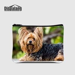 Маленький кошелек Dispalang, многофункциональный кошелек для монет, сумка для собак, молния для кармашка для монет, известный бренд, сумка для