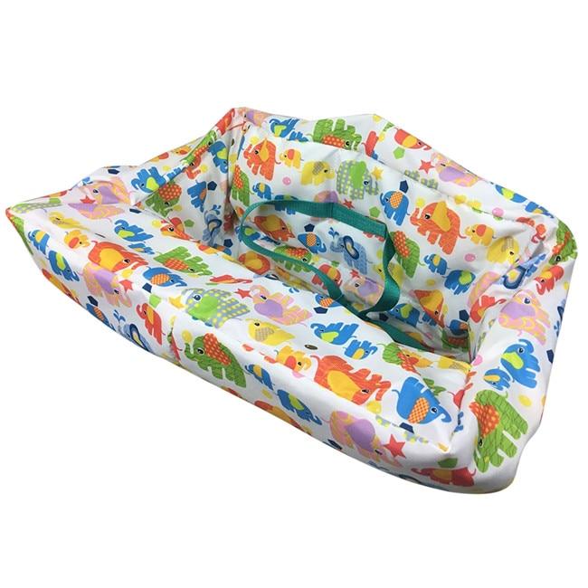Многофункциональный складной чехол для детской тележки, защитный чехол для детской тележки, защитные сиденья для детей - Цвет: B