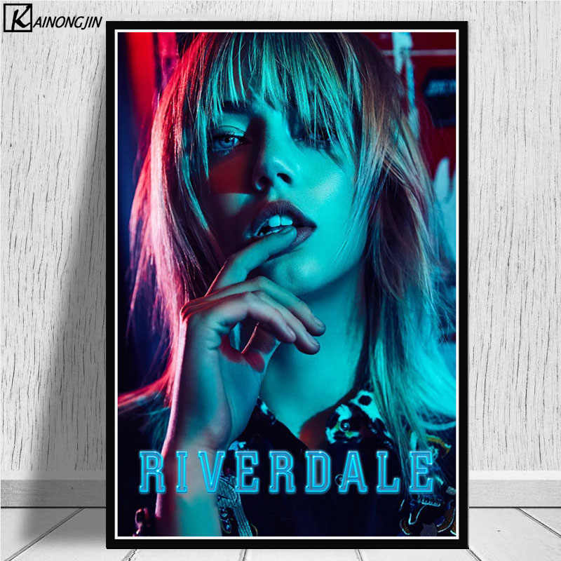Posters and Prints Hot Riverdale Poster Season 2 3 TV Series Show Pop Movie Wall Picture Canvas Painting for Home Decoration art