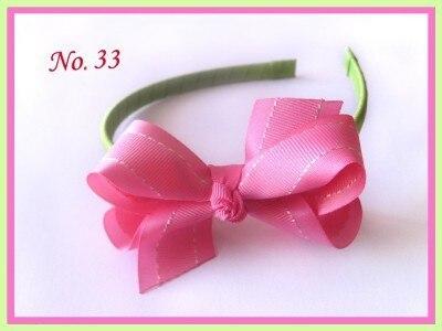 """18 шт. """" ободок «АВС» новая весенняя лента/кружевной принт детские аксессуары для волос"""