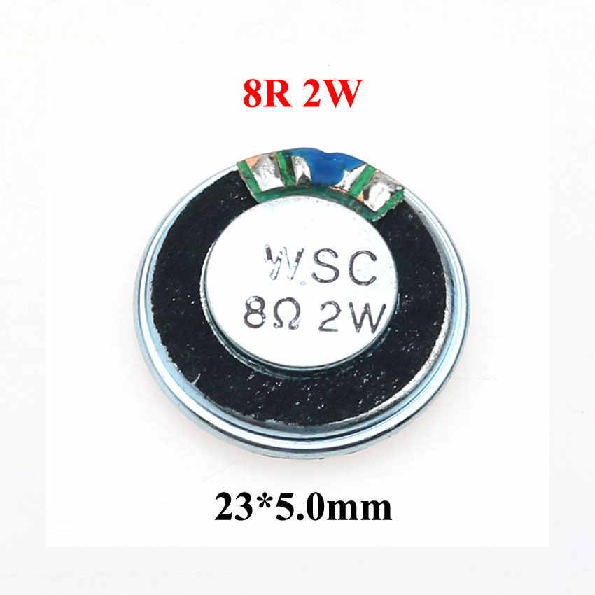 YuXi 1 sztuk 8 ohm 1W 2W głośnik róg 8R 1/2W 20mm 22mm 23mm 26mm 28mm 32mm 36mm 40mm głośnik wymiana części.