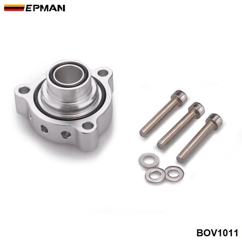 EPMAN Sport Blow Off Adaptor For BMW Mini Cooper S and for Peugeot 1.6 Turbo engines High Quality Blow Off valve TK-BOV1011