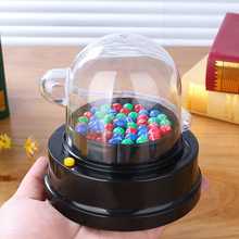 Hot Sale Party Games Electric Lucky Number Picking Machine Mini Lottery Bingo Shake Ball Entertainment Board Game