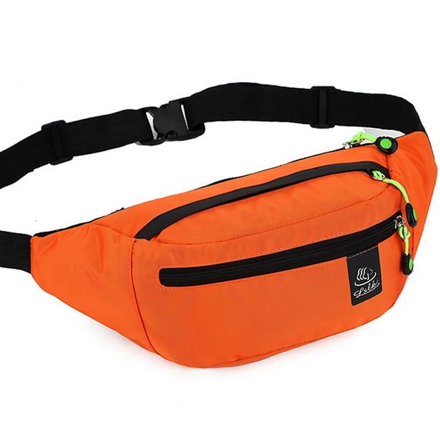 Men Nylon Waist Pack Fanny Pack for Women Casual Waterproof Belt Bag Mobile  Phone Sling Chest Bag Multifunctional Waist Pouch