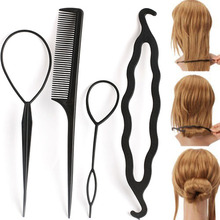 Convenient Easy-to-Use Plastic Hair Styling Tools Set