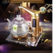 Kamjove утолщение стекла, Электрический чайник вскипятить чай Здоровье аналитики красочные хрусталь Электрический чайник плита