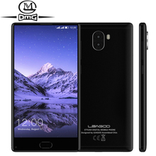"Leagoo Kiicaa Mix Mobile Téléphone 5.5 ""FHD 3 GB RAM 32 GB ROM MTK6750T Octa base Android 7.0 Smartphone Double Retour Caméras D'empreintes Digitales"