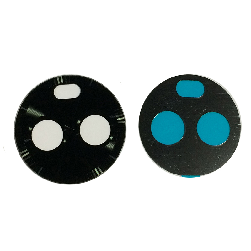 Original New Back Main Camera Lens Glass Cover with Adhesive Sticker Tape For <font><b>Motorola</b></font> <font><b>Moto</b></font> X4 X 4th <font><b>XT1900</b></font> Black with Tracking image