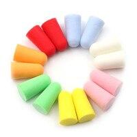 新 10 ペアpuフォーム耳はノイズいびき耳栓快適な研究のための睡眠