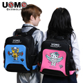 UNME students schoolbag children backpack for 5 to 12 years old boys waterproof ,primary school bag