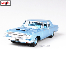 Maisto 1:18  1963 Dodge 330 Muscle Car Classic Alloy Retro Model Decoration Collection gift