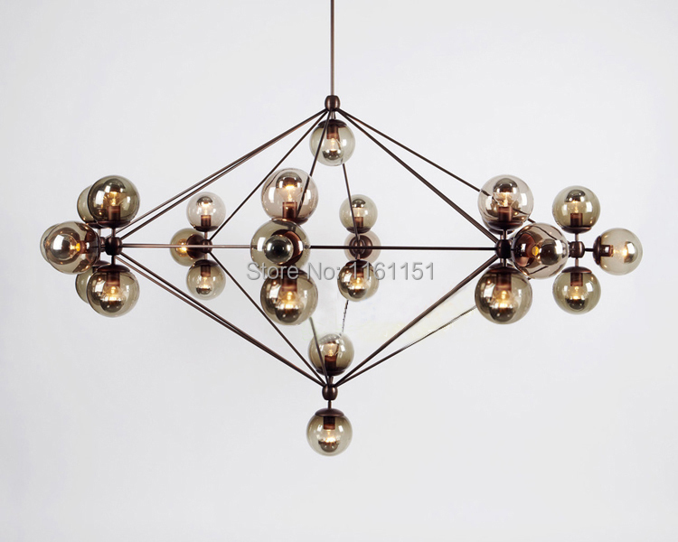 Free shipping new arrival Replica Designer Lighting Modo glass Chandelier Jason Miller pendant lamp 2017 new arrival free shipping fallout