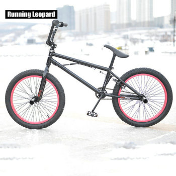 20 inch BMX bike Steel frame male performance bike silvery .black ...