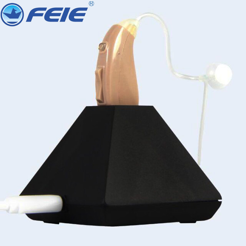 Drop Shipping Hearing Aid Earphone Rechargeable Amplifier Hear Aids Mini RIC & BTE Machine Deaf Instrument MY-202 analog bte hearing aid deaf sound amplifier s 288 deaf aid with digital processing chip free shipping