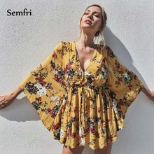 Senmfri Cotton Hawaiian Shirt Woman Fashion Floral Print Slim Fit Shirt  Long Sleeve Autumn Tops Streetwear Dropshipping 2019