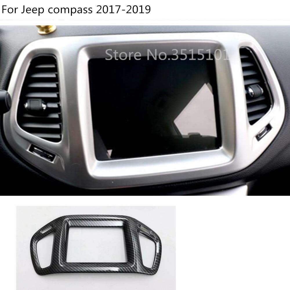 Interior Dashboard GPS Navigation Cover Trim 1pcs For Chevrolet Equinox 2018