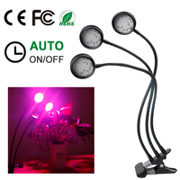 LED Grow Light Lamp 30W Full Spectrum Dimmable Timing Fitolamp For Plant Growing Indoor Garden Grow Light Seed Flower Vegetable