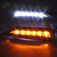 top quality led drl daytime running light for mazda 6 core 2012, 2009, 2013 with indicator and auto off function