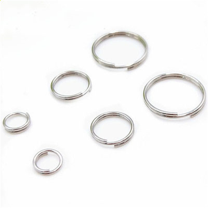 Hotaluyt 600pcs Metal Split Rings Stainless Steel Double Loop Jump Ring for Jewelry Making 5mm//6mm//7mm//8mm//10mm//14mm