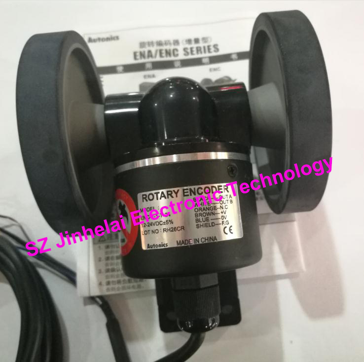 100% New and original ENC-1-1-V-24, ENC-1-2-V-24 AUTONICS Roller incremental rotary encoder new and original mutoh vj 1604 vj 1204 pf enc a0 assy printers