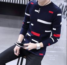 2016 winter fashionable casual male slim basic shirt sweater male sweater o-neck pullover