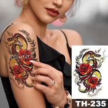 Wysokiej Jakości Tymczasowe Wąż Tatuaże Kupuj Tanio