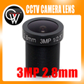 "5 PÇS/LOTE 3MP 2.8mm LENTE 1/2. 5 ""HD 115 Graus Wide Angle IR Board Para CCTV IP câmera"