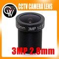 """5 UNIDS/LOTE 3MP 2.8mm LENTE 1/2. 5 """"HD Gran Angular de 115 Grados IR Junta De CCTV IP cámara"""