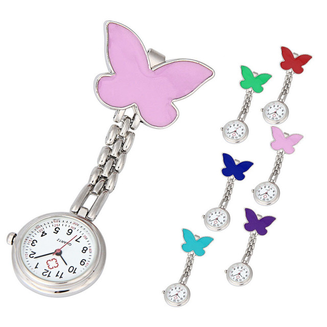 2019 New Arrival Popular Women's star smile Pendant Watches Nurse Pocket Watch C