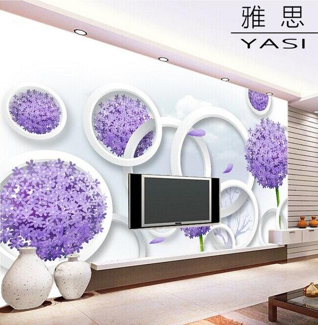 Wohnzimmer mit lila tapete – Neues Weltdesign 2018