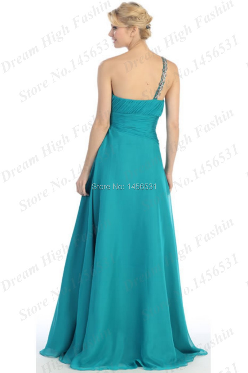Dress jewels picture more detailed picture about pretty junior pretty junior one shoulder chiffon bridesmaid dresses 2014 yellowturquoiselemon green wedding maid ombrellifo Images