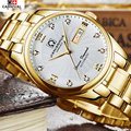 2016 New Gold Watches Carnival Luxury Classic Brand Men's Fashion Automatic Man Mechanical Watches Waches relogio masculino