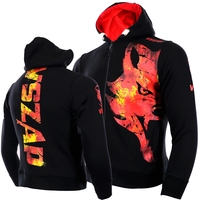 VSZAP Wolf Warm Winter Boxing Shirt Hoodie Tracksuits Fight MMA Gym Tee Shirt Boxing Fitness Sport