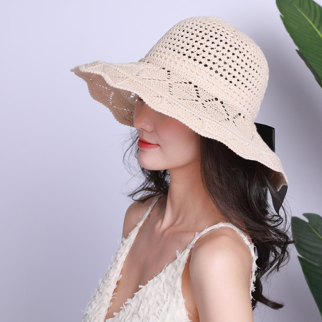 Summer Bow-knot Boho Straw Hat