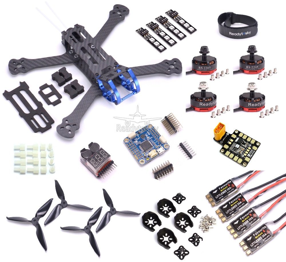 Rooster 230 5 FPV Racing Drone F4 V3 PRO Flight Control RS2205 2300KV Motor Littlebee 30a-s brushless ESC 5 / 12V PDB 5065 PropRooster 230 5 FPV Racing Drone F4 V3 PRO Flight Control RS2205 2300KV Motor Littlebee 30a-s brushless ESC 5 / 12V PDB 5065 Prop