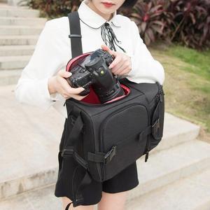 Image 5 - Multi Functionele Camera Rugzak Video Opslag Schouder Crossbody Bag Draagtas Outdoor Waterdichte Nylon Voor Dslr Camera Tas