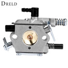 DRELD 45cc 52cc 58cc Chainsaw Carburetor Carb for 4500/5200/5800 Chinese Chainsaw Spare Parts Aluminium alloy Garden Tool Parts